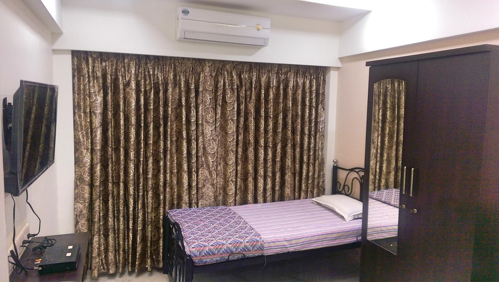 nest inn paying guest malad mumbai twinbed1