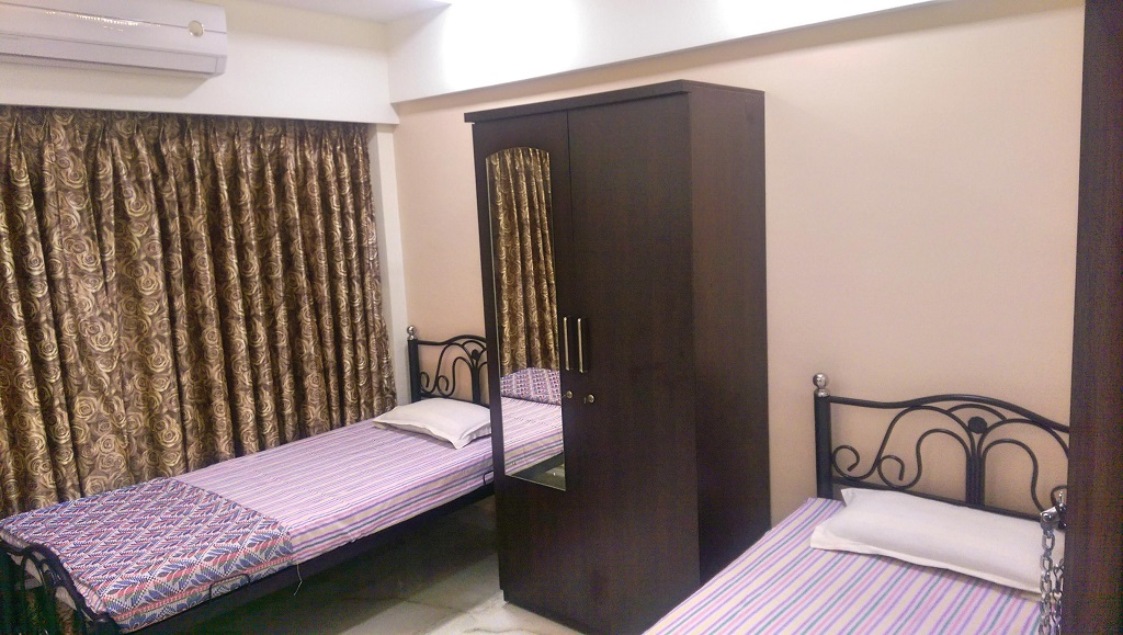 nest inn paying guest malad mumbai twinbed2